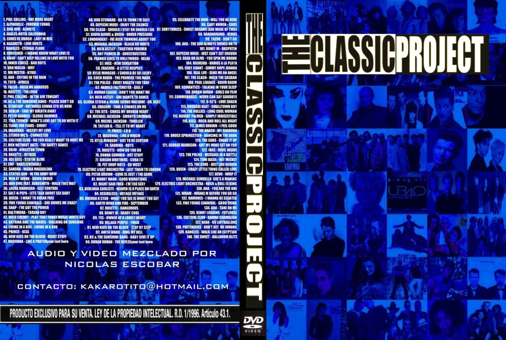 MP3 Para amenizar la fiesta: Classic Project 1